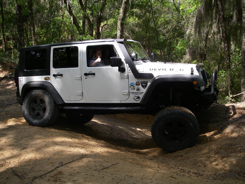 watch rims lions wrangler hillyards off inch youtube road rim jeep on tires